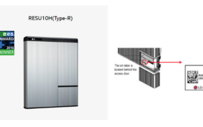 LG Energy Solution Michigan Recalls Home Energy Storage Batteries Due to Fire Hazard