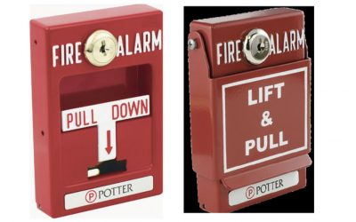 Potter Electric Recalls Addressable Pull Stations Single/Dual Action Due to  Failure to Alert to Fire