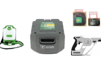 Victory Innovations Recalls Electrostatic Sprayers with Lithium-ion Battery Packs Due to Fire and Explosion Hazards