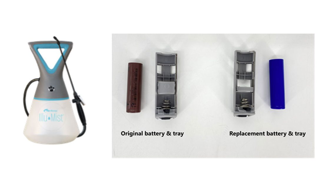 HD Hudson Recalls Battery-Powered Sprayers Due to Fire Hazard