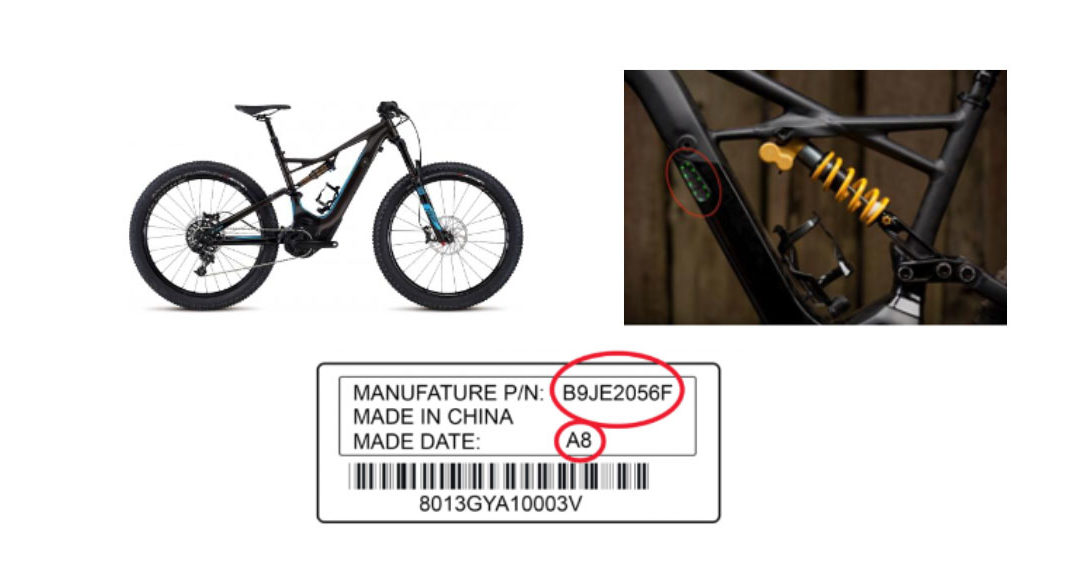 Specialized Bicycle Components Recalls Electric Mountain Bike Battery Packs Due to Fire and Burn Hazards
