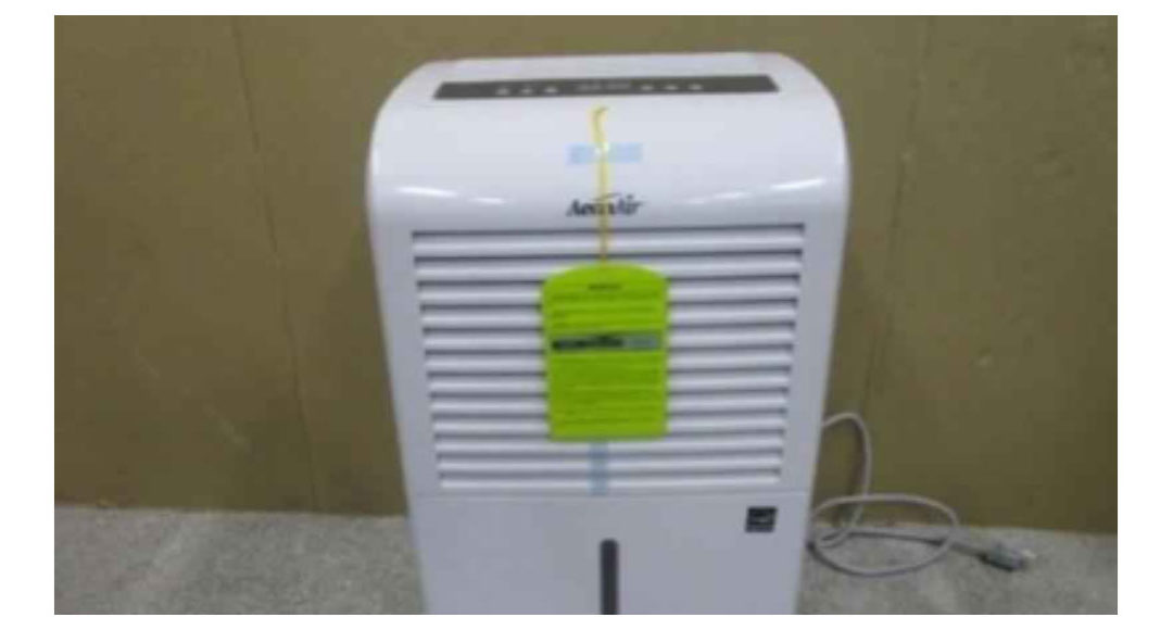 New Widetech Dehumidifiers are being recalled in the U.S. because they can overheat and catch fire